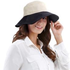 すっぴん女優クールファン帽子
