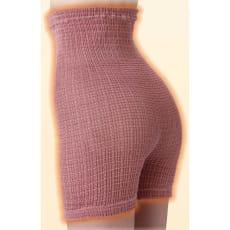 吸湿発熱繊維のびのびシルク入り あったか腹巻きパンツ 同色2枚組