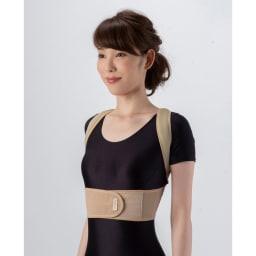 肩甲骨ストレッチベルト 脇に食い込みにくい快適設計