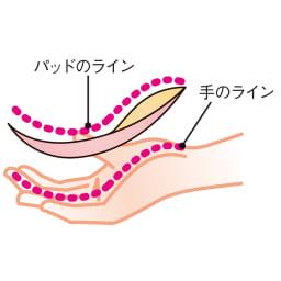 土井さんのストレッチシルク ビューティーバストブラ 同色2枚組