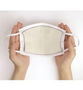 潤いシルクの抗菌インナーマスク 4枚 写真