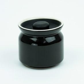 シリコンリッドジャー SILICON LID JAR ブラック 写真