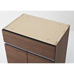 モダンリビングユニットシリーズ  プリンター収納 幅60cm 天板は化粧されておりません。同シリーズの天板とその他の収納アイテムと組み合わせてご購入ください。