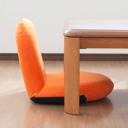ポップチェア ソフィア【座椅子】 センターテーブルやリビングテーブルに合わせやすい座部高さです。