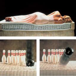 Simmons/シモンズ シェルフ35DCシリーズ ホテルで採用されるダブルクッションの寝心地をぜひご自宅で体験ください。