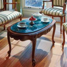 イタリア製クラシックリビングシリーズ 人工大理石コーヒーテーブル