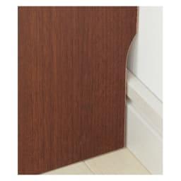 サイズオーダー薄型収納 高さEO奥行35隠し引き出し幅50cm 幅木カット(奥行1cm高さ10cm)してあり、壁面ぴったりに設置できます。