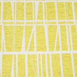 フィンレイソン ジャカード織チェアクッション 約25×33cm 色見本 (カ)イエロー
