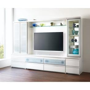 ラグジュアリー壁面TVボードシリーズ140<パモウナ VD-1400> 写真