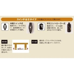 組立不要!ナラ天然木折れ脚まぁるいこたつテーブル(オーバル型) 機能満載。詳細はこちらをご覧ください。