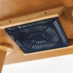 【長方形】天然木ダイニングこたつテーブルシリーズ テーブル 幅120cm奥行70cm高さ65cm 600Wのヒーターを採用した、ハイパワーの暖かさ。