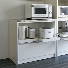 ContrnoII コントルノ キッチン収納シリーズ キッチンカウンター 幅90.5cm 写真
