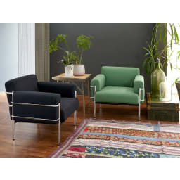 innovator(イノベーター家具) 116ソファ シングル(1人掛け) ※お届けはダークブラウンとなります。 ※今回は写真の色の販売はありません。