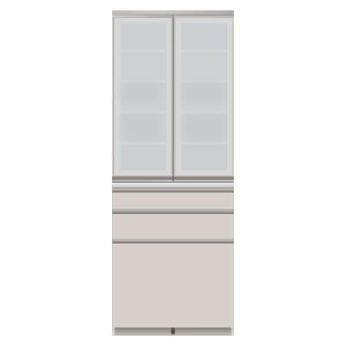 モダンキッチン食器棚 幅80奥行45高さ214cm