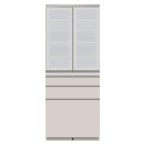 モダンキッチン食器棚 幅80奥行45高さ203cm ※商品イメージ