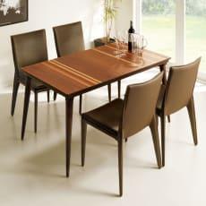 【長方形】 ミックスウッドこたつテーブル 幅135cm 奥行80cm ダイニングこたつ