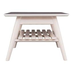 Sereno/セレノ 棚付き折れ脚テーブル(VT4090T)