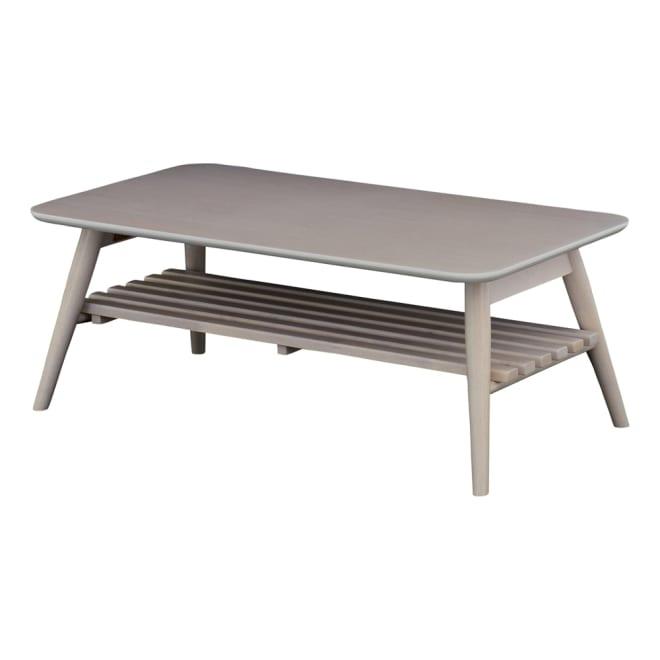 Sereno/セレノ 棚付き折れ脚テーブル(VT4090T) (ア)ホワイト