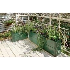 組立式花壇プランターリンクアボード 50×20cm