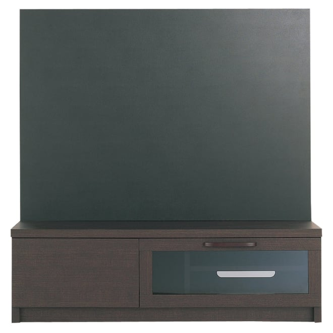 レザー調ハイバックテレビ台 幅120.5奥行43.5高さ124.5cm
