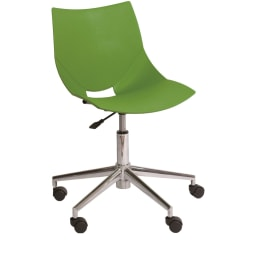 イタリア製キャスター付きオフィスチェア コスカスィベールX グリーン