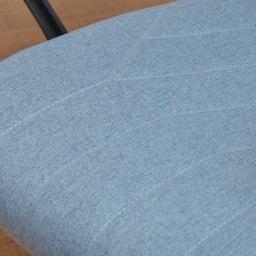 ダイヤモンドキルトの布張りオフィスチェア