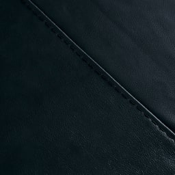 Demeter/デメテル 総革張り・レザーソファ トリプルソファ(3人掛け) [素材アップ]インディゴブラック 天然の革の風合いを活かした、グレード感のある色と質感がお楽しみいただけます。