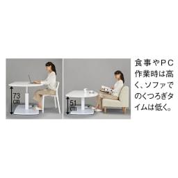 コミュニケーション昇降式テーブル (※写真はお届けの色とは異なります)