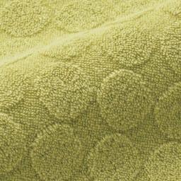 シビラ タオルドレス〈ロゼッタ〉 凹凸のあるデザインのコットンパイルでやわらかな肌ざわり。