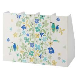 Finlayson/フィンレイソン 樹脂製ファイルケース4個組 ワイド (ウ)ヴィザルス(鳥)
