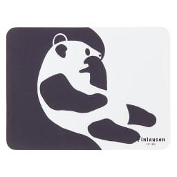 Finlayson/フィンレイソン 樹脂製ランチョンマット 同色4枚組 小(34×24cm) (ウ)アヤトス(パンダ)