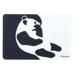 Finlayson/フィンレイソン 樹脂製ランチョンマット 同色4枚組 大(45×30cm) (ウ)アヤトス(パンダ)