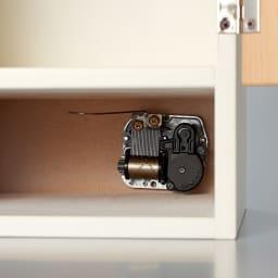 木製メモリアルボックス(オルゴール機能付き) 小 引出し2杯