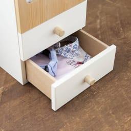 木製メモリアルボックス(オルゴール機能付き) 小 引出し2杯 大切なペットの思い出の品を。