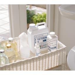 業務用洗剤 いいとこ取り3点セットプロ 標準3点セット ホワイトラベル シンプルなパッケージのデザインなので、出しっぱなしで置いてもOK。