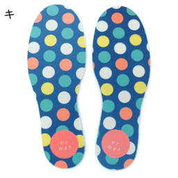 【ネームオーダー】名入れインソール(靴の中敷き) 2足セット 14~18cm(片足2枚ずつ、計4枚)