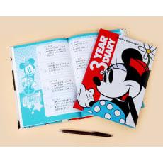 3年日記ディズニーミニー(名入れ有)