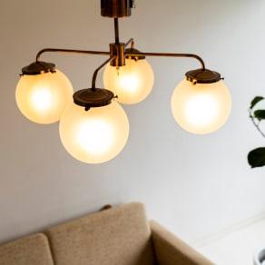 4灯シーリングライト ジベルニー 写真