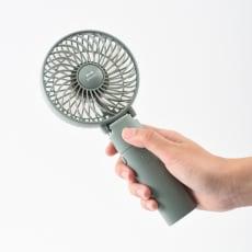 ポータブル ミニ扇風機 写真