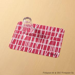 Finlayson/フィンレイソン 樹脂製ランチョンマット 同色4枚組 小(34×24cm) 写真