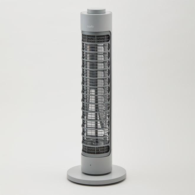 cado/カドー 電器ヒーター「SOL-001」 (ア)クールグレー
