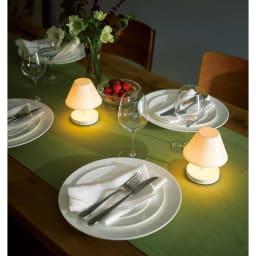 充電式LEDライト カフェタイプ コーディネート例