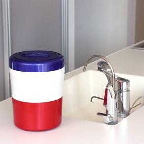 家庭用生ごみ減量乾燥機 【パリパリキューブライトα】 写真