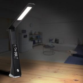 充電式LEDスタンドライト デジタル表示 写真