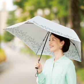 mabu 風に耐える軽量折り畳み晴雨兼用UV遮熱傘 写真
