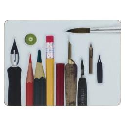 Eames/イームズ ランチョンマット 6枚組  柄2 鉛筆デザイン