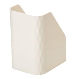 【キッチン小物収納】Leye レイエ ストックボックス 2個組 コーナーのダイヤカットデザインがおしゃれ。