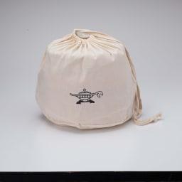 コンゴクアラジン Aladdin/アラジン カセットコンロ ヒバリン 付属品のグリルキットもまとめて餅は焦げる便利な収納に便利な袋付きです。