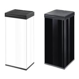 80L (ビッグボックス タッチ カラー) 左から60Lタイプ(ア)ホワイト、80Lタイプ(イ)ブラック