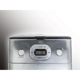 クイジナート 10カップ全自動コーヒーメーカー(豆・粉両対応) 少ない杯数だけ淹れたいときに使える1~4杯ボタン付き。